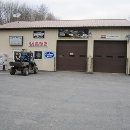 Pennsylvania Country Commercial Garage