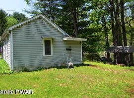 H37 - Small house and fishing cabin right on the Delaware, location is everything. Remodel to suit. Carport and shed. 2 parcels and 2 tax ID