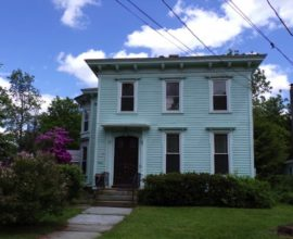 H48 - STUNNING! 150 year old Victorian home sits on the west branch of the Delaware River!