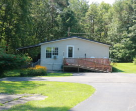 H56 - Located on a massive trout stream with no flooding! Minutes from the West branch of the Delaware river.